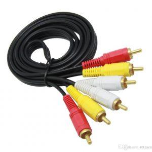 Cable AV 3RCA M/M (1.5ML-3ML-10ML-15ML)