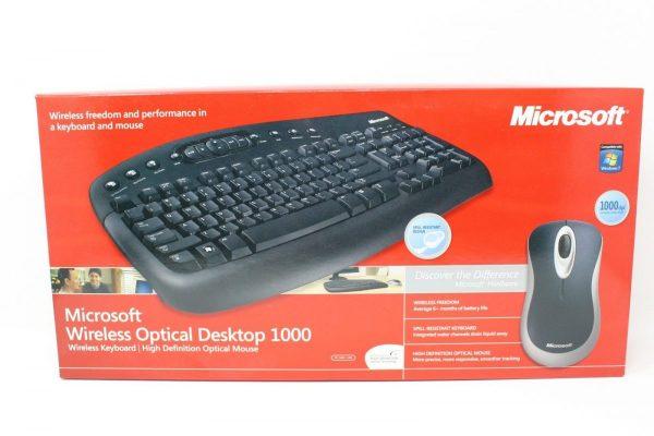 Clavier-Souris Microsoft 1000 Sans fil