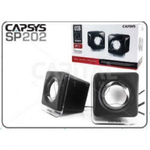 Haut Parleur Capsys USB SP202 Carré