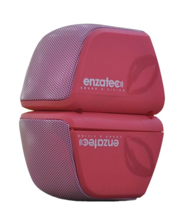 Haut Parleur ENZATEC SP-308 (Rouge-Orange-Vert)