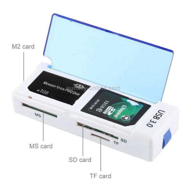 Lecture Carte Memoire USB3.0 4Ports Avec Protection-3122