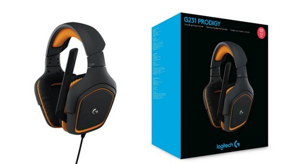 Casque Logitech-G231 Prodigy Gaming