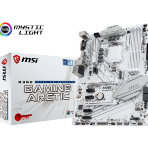 Carte Mere MSI B360 Gaming Artic