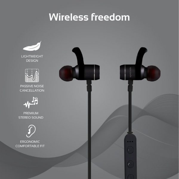 PROMATE MOVE Bluetooth (Noir-Blanc)