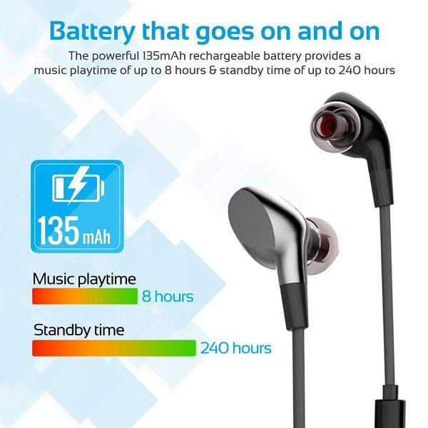 PROMATE VITALLY 3 Noir Bluetooth