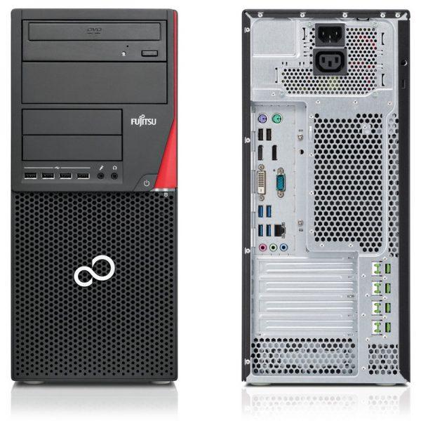 UC FUJITSU ESP-P556 i3 7100 3.90Ghz/DDR-4Go/DD-500Go/DVDRW/FREE-DOS