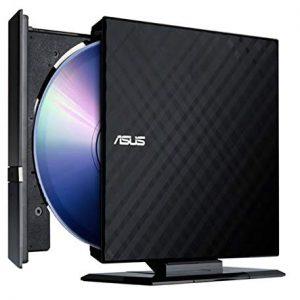 Graveur DVD ASUS Externe Slim Blanc (SDRW-08D2S)