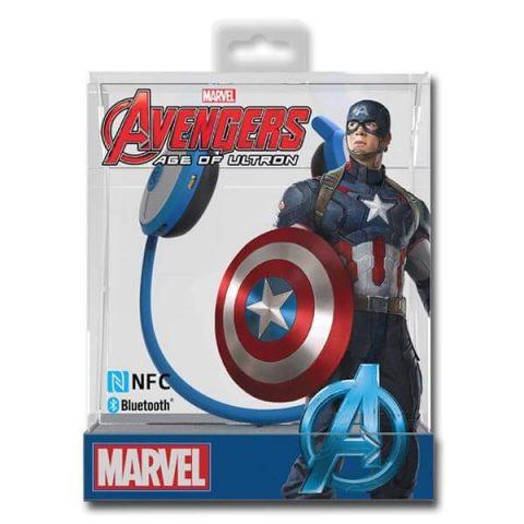 Casque E-BLUE EBT 932 Blue Sans fil Marvel Avengers America NFC Bluetooth