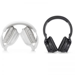 Casque HP-H3100 Stereo (Noir-Blanc)